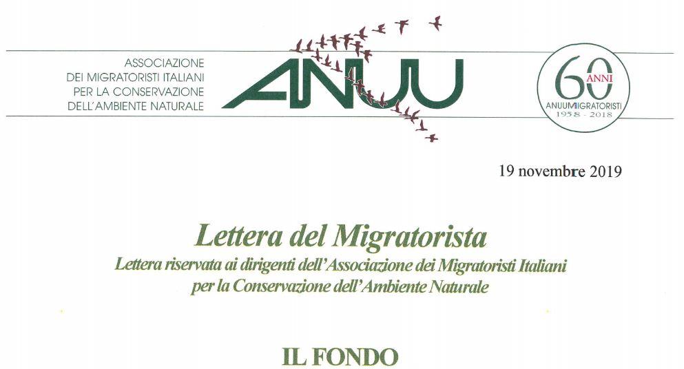 Lettera del Migratorista n.130